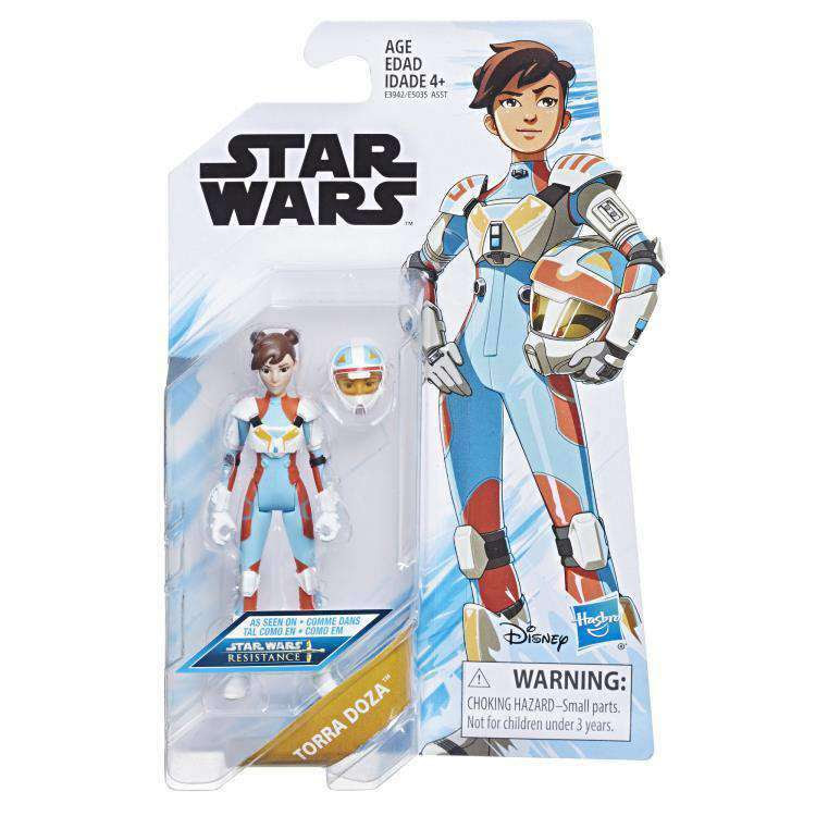 Image of Star Wars Resistance Wave 1 - Torra Doza figure - FEBRUARY 2019