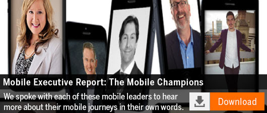Hand-selected by the editors of Mobile Strategies 360, The Mobile Champions lead the mobile charge at their respective companies. We spoke with each of these mobile leaders-who hail from a range of industries including healthcare, retail, restaurants, hospitality and education-to hear more about their mobile journeys in their own words.