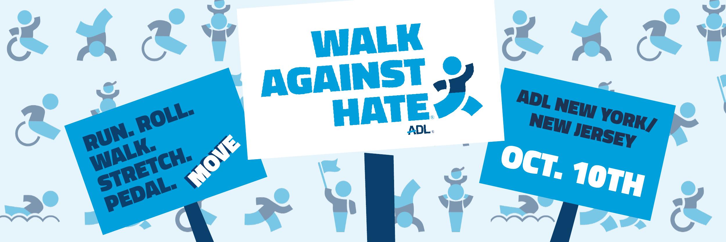 ADL Walk Against Hate