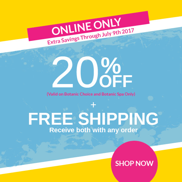 20% off plus Free Shipping on any order.