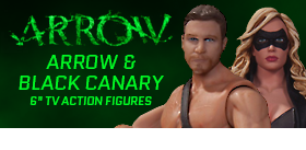 "ARROW 6"" TV ACTION FIGURES"
