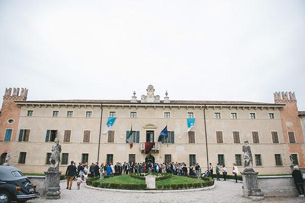 matrimonio anni 50 con rito civile a Villa Balladoro