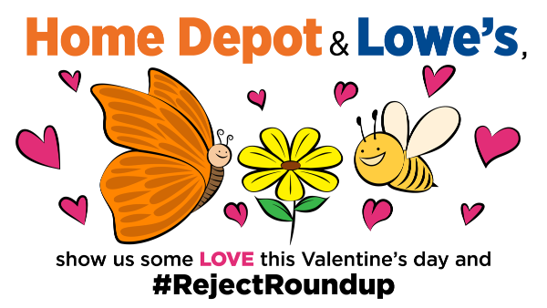 Home Depot & Lowe's: show us love and #RejectRoundup