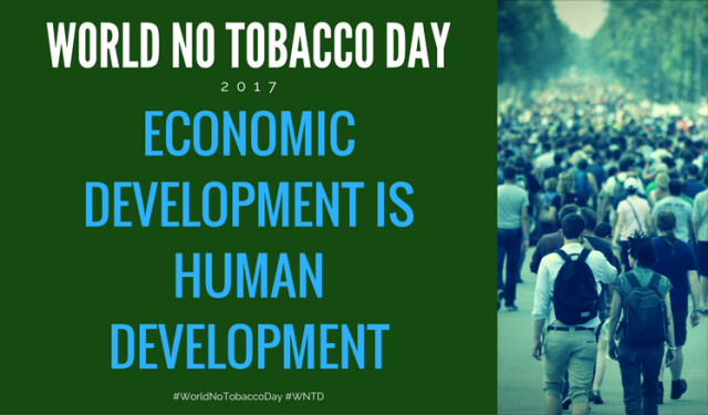 HHS Blog: World No Tobacco Day: Economic Development is Human Development