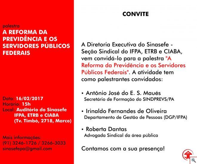 ConvitePalestra 16 02 17