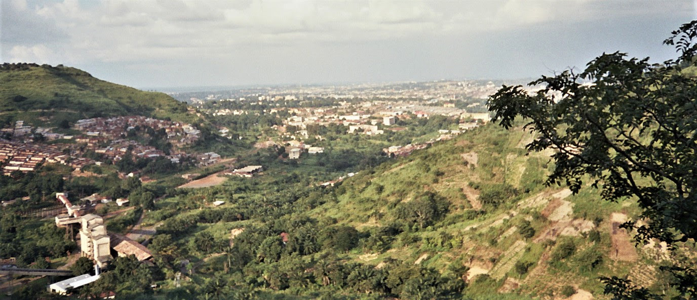 City of Enugu, in southwest Nigeria. (Wikipedia, Martin Kudr)