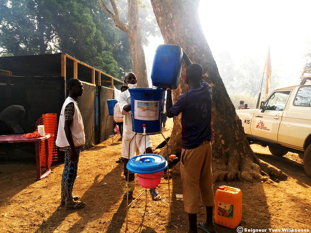 Responder a emergencias en medio del conflicto en la República Centroafricana