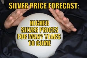 Silver Price Forecast: Higher Silver Prices For Many Years To Come