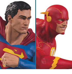 DC GALLERY SUPERMAN VS. THE FLASH