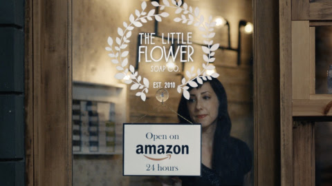 Ms. Holly Rutt, co-founder of Little Flower Soap Co. based in Michigan, is the U.S. business owner f ...