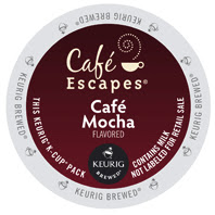 Cafe Escapes Cafe Mocha Keurig® K-Cup® Pods
