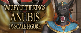 1/6 SCALE VALLEY OF THE KINGS ANUBIS FIGURE