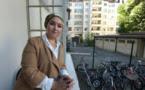 Hanane Karimi chez elle à Strasbourg, le 24 août 2016 (AFP/PATRICK HERTZOG)
