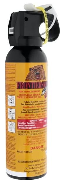 bear spray frontiersman