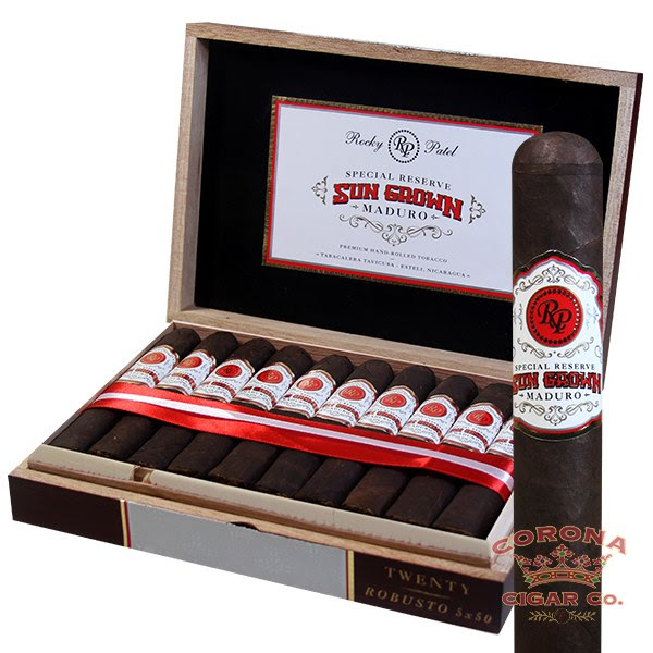 Image of Rocky Patel Sun Grown Maduro Robusto Cigars