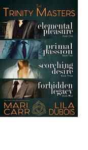 The Trinity Masters: Books 1–4 by Mari Carr and Lila Dubois