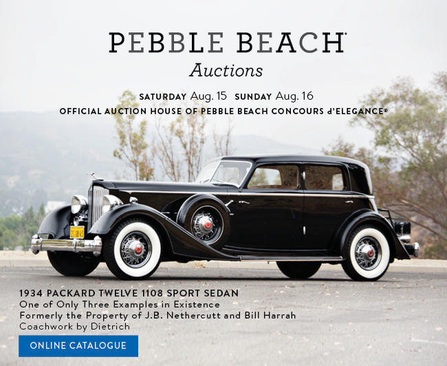 View the 1934 Packard Twelve 1108 Sport Sedan