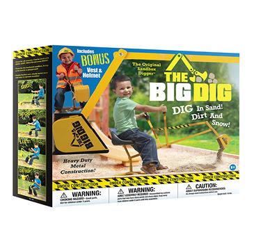 The Big Dig Sandbox Digger