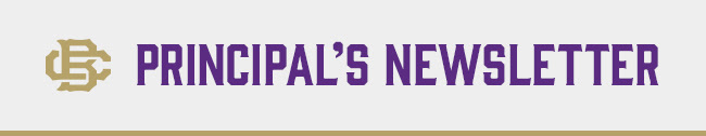 CBHS - Principal's Newsletter