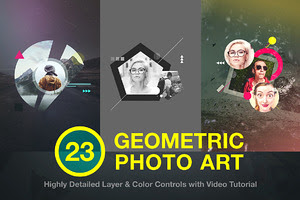 Geometric Photo Art