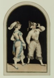 19th Century Paper Cut - A pair of 19th Century Relief Collages