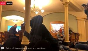 INSURRECTION! Black Lives Matter Storms State Capitol in Insurrection…Where's the Outcry from Democrats and Media?