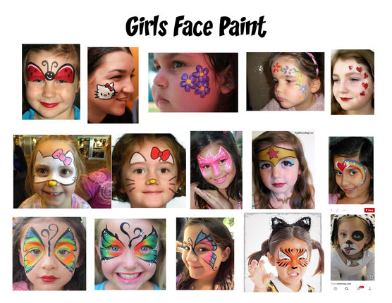 Face Painting Sheets_001
