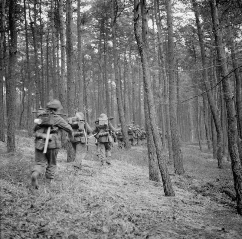Fierce Fighting at Reichswald Forest