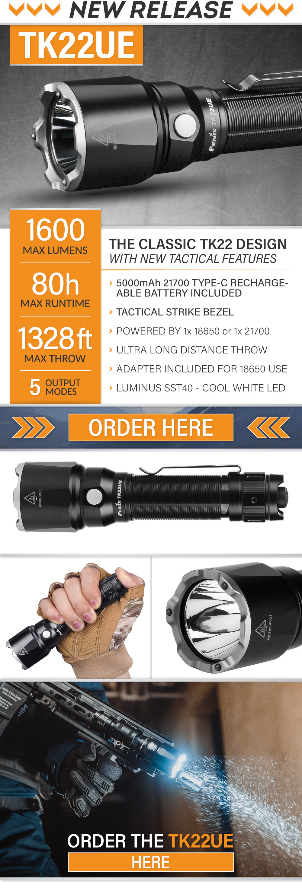 New Fenix Light - TK22UE
