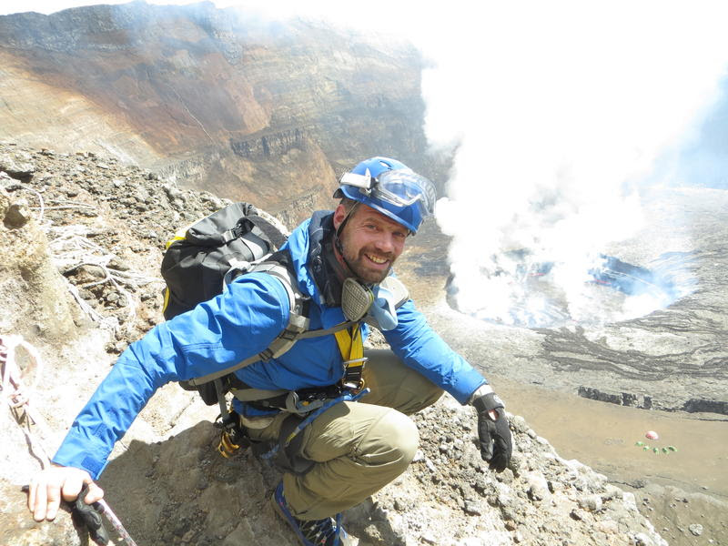 picture of volcanologist Jeffrey Johnson