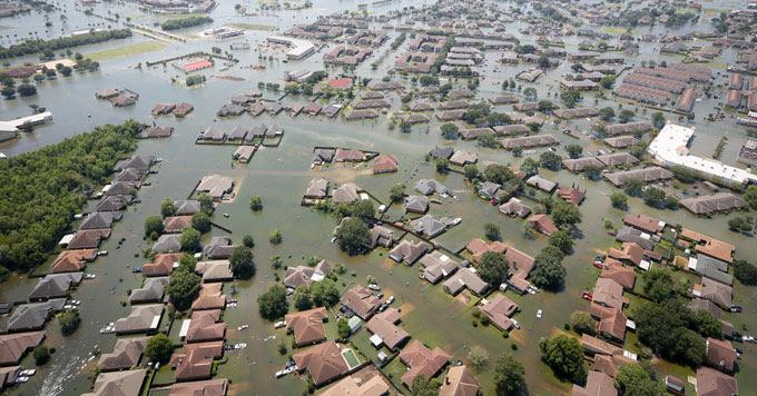 Flooding in Port Arthur, Tx