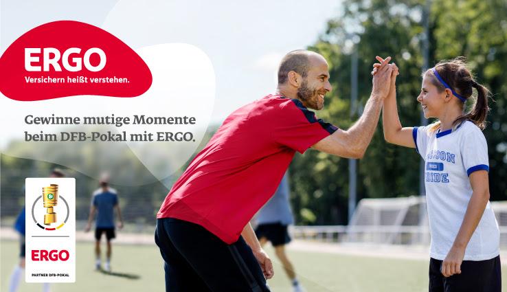 ERGO - Balltragekinder für den DFB-Pokal