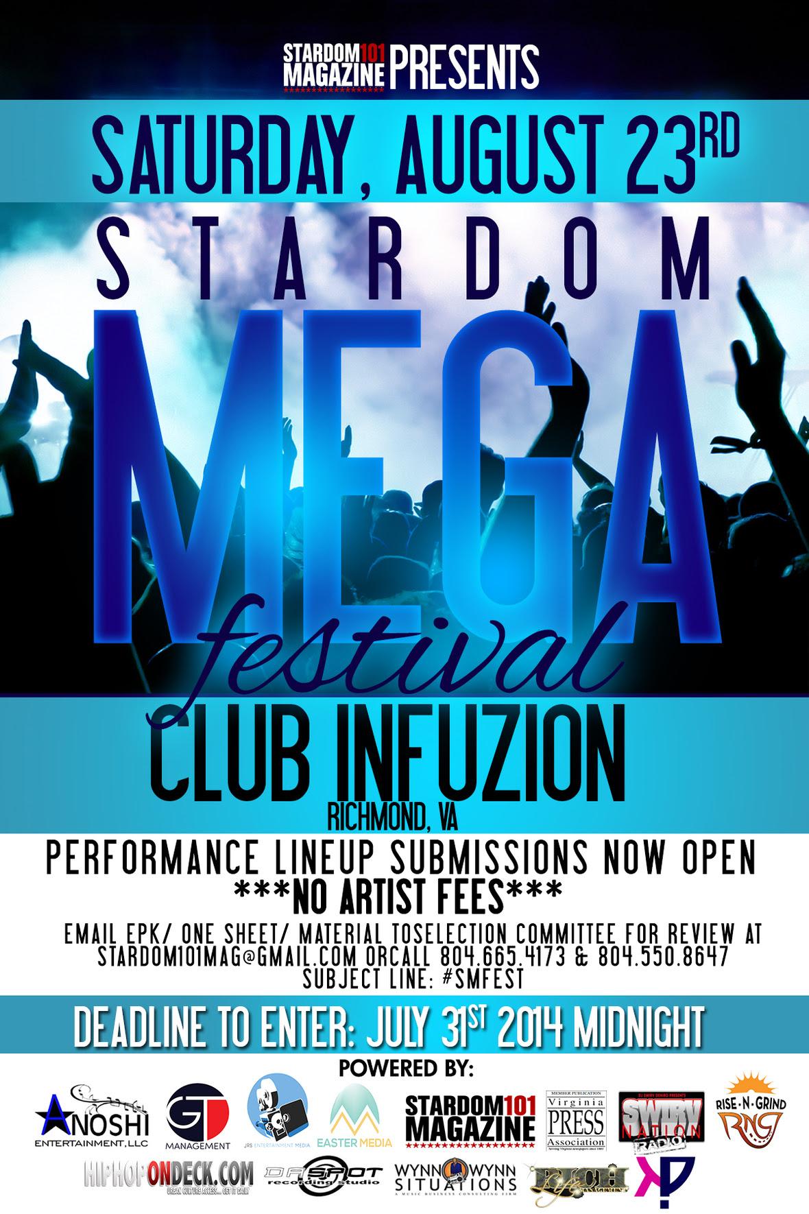 Stardom101 - SM Festival Media Partners Booking Flyer 2