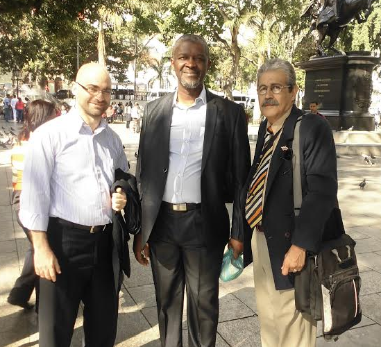 Basem Tajeldine, Lumumba y Luis Salazar