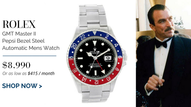 Rolex GMT Master II Pepsi Bezel Steel Automatic Mens Watch