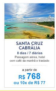 Santa Cruz Cabrália / R$ 768