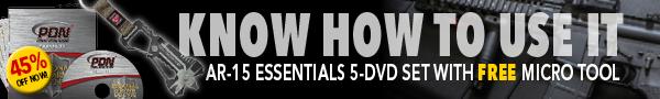 AR-15 ESSENTIALS 5-DVD SET + FREE MICRO TOOL