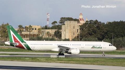 Airbus A321 Alitalia EI-IXH | is due: January / February 2020