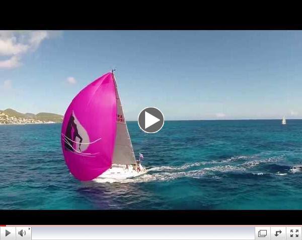 Heineken Regatta Filmed by DRONE 2014 Sint Maarten Caribbean