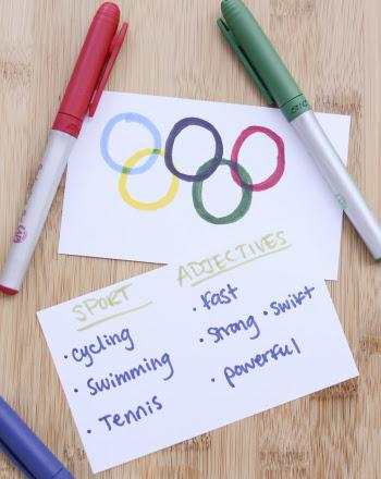 Third Grade Holidays & Seasons Activities: Olympic Writing