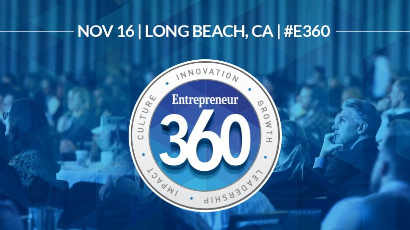 Entrepreneur 360™ Conference: Secure Your Seat