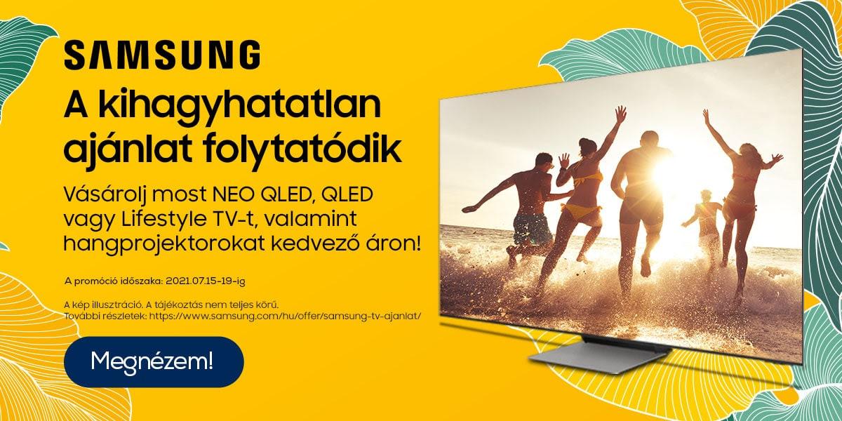Samsung televízió ajánlatok!