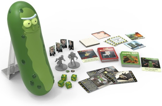 Cryptozoic Entertainment at New York Comic Con 2018 Rick and Morty: The Pickle Rick Game