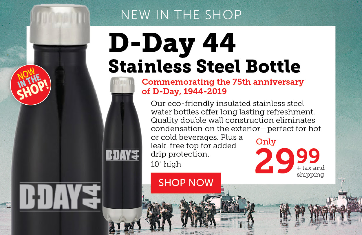 D-DAY 44 Stainless Steel Bottle