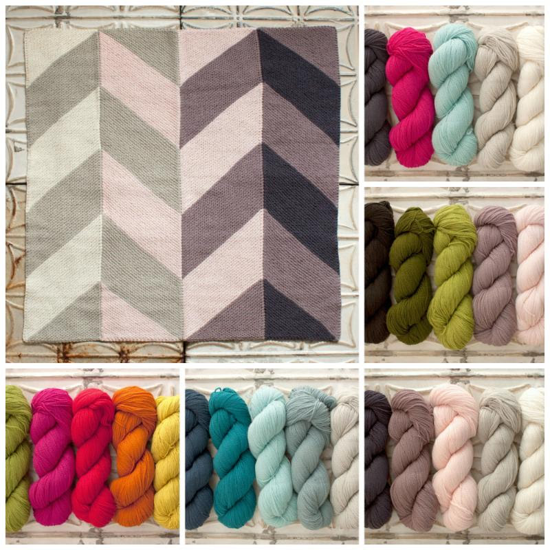Garden Baby Blanket Kits