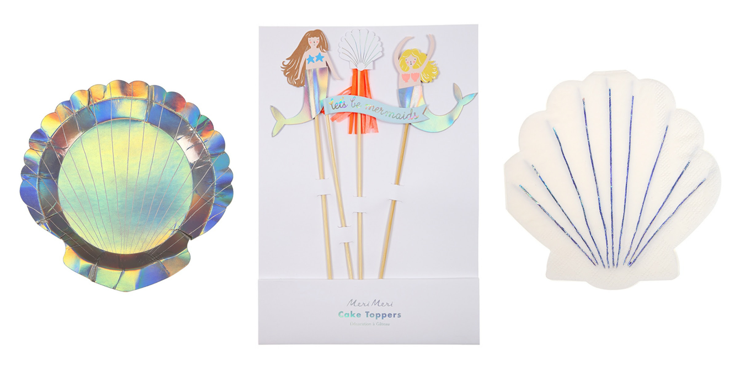 Pop Roc Parties Blog | Meri Meri Let's Be Mermaids