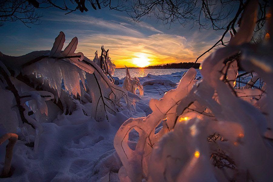 Timothy Corbin Sunset Frost