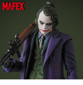 THE DARK KNIGHT MAFEX THE JOKER 2.0 RESTOCK