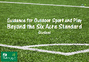 Guidance for Outdoor Sport and Play front cover