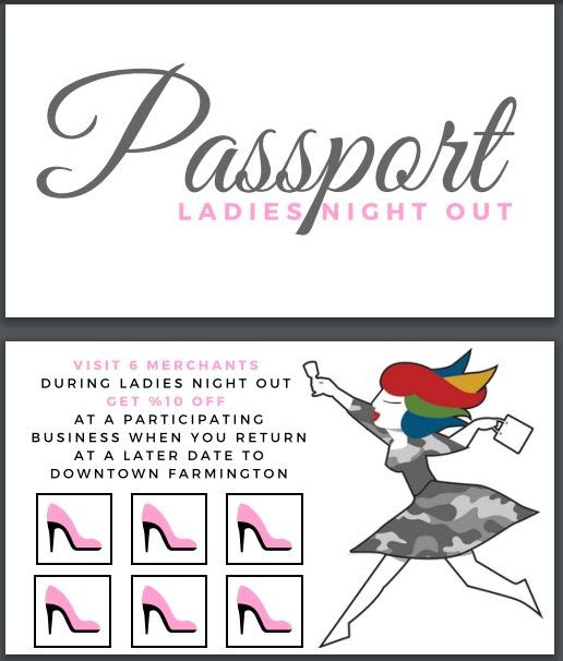 Image of Ladies Night Out Passport Card